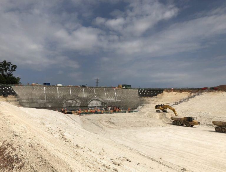 Chilterns destruction by HS2 - Tunnel