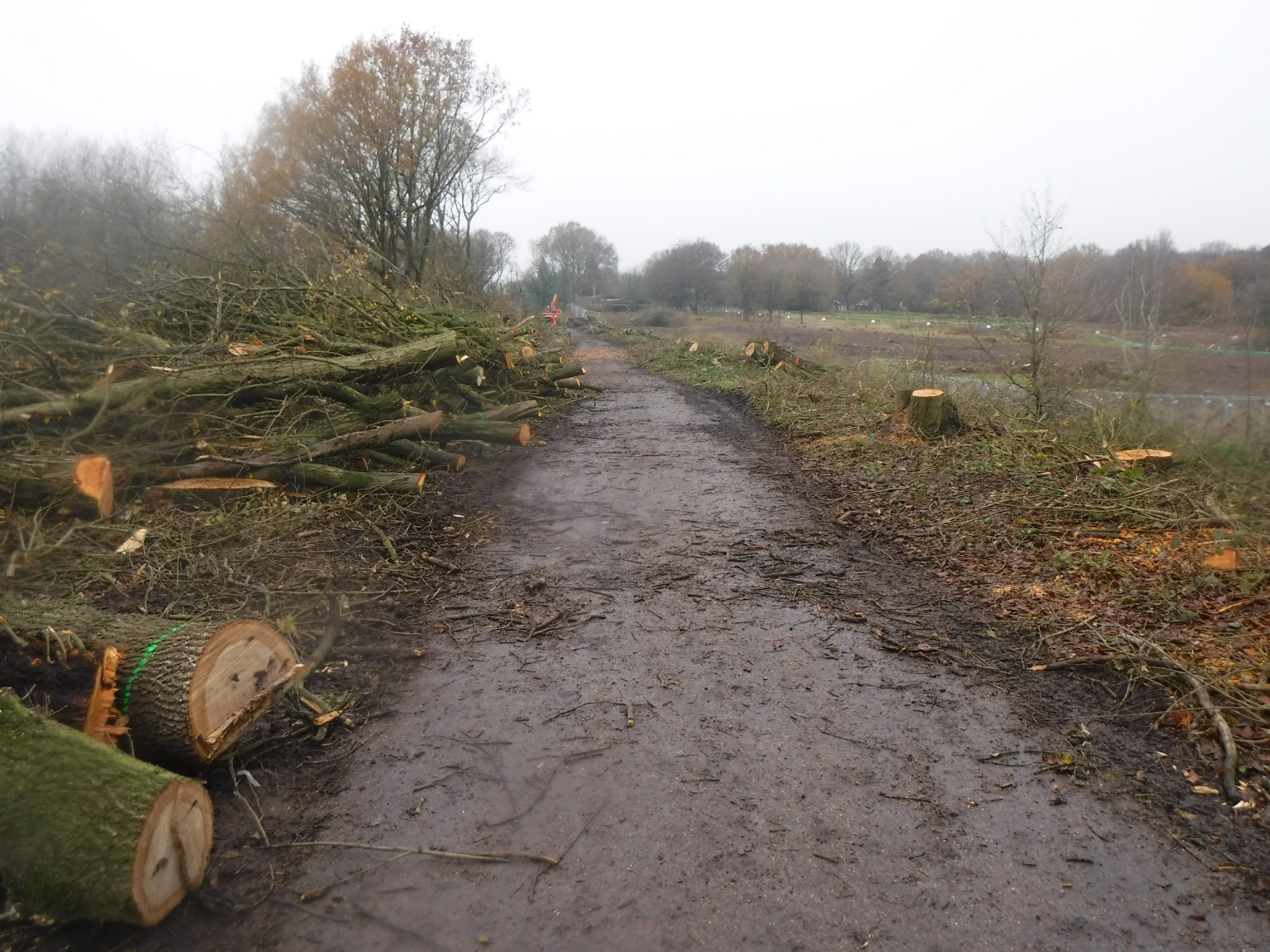 Kenilworth Greenway Destroyed by HS2